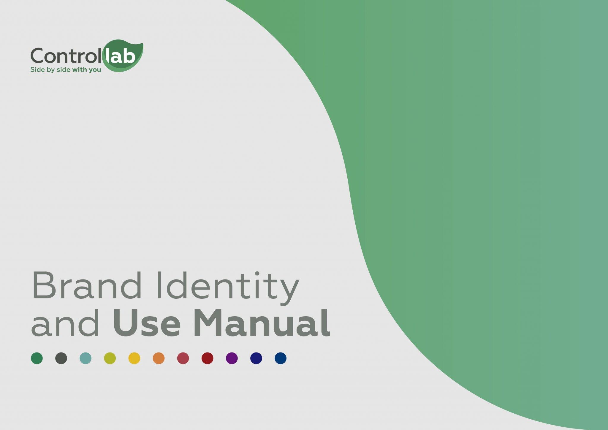 CAPA Manual de Identidade e Uso da Marca Controllab EXTERNO EN 1
